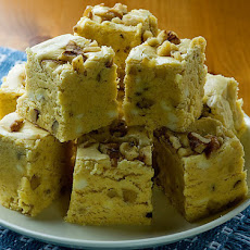 Pumpkin Walnut Fudge
