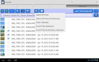 Screenshot of SDCardXD for Xoom (SDCardX)