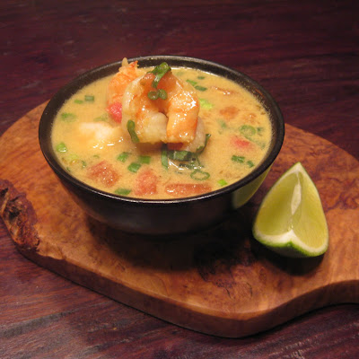 Coconut Curry Shrimp Soup