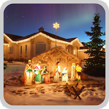 Christmas crib wallpaper 1