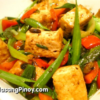 Tofu in Black Bean Sauce