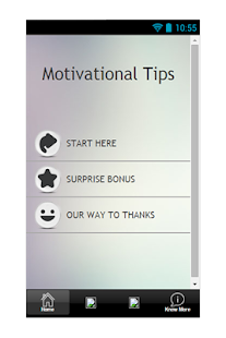 Motivational Tips - screenshot