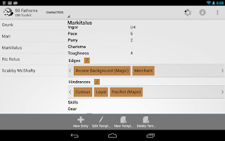 Screenshot of GM Toolkit