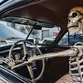 Getting a little Hungry, is there a restaurant around? by Kim Dawson - Transportation Automobiles
