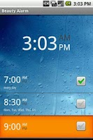 Screenshot of Wonder Alarm clock