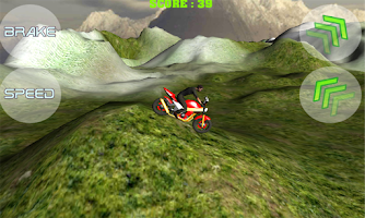 Screenshot of Motocross Extreme 3D