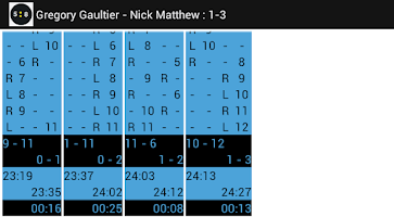 Screenshot of Squash Scorer Squore