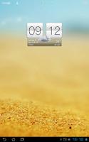 Screenshot of Sense V2 Flip Clock & Weather