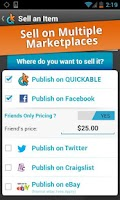 Screenshot of Quickable Marketplace