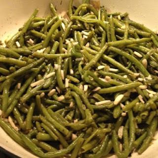 Green Beans With Sliver Almonds Recipes