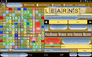 Screenshot of Words Solver 4 Friends Helper