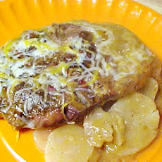 Cheesy Pork Chop Casserole