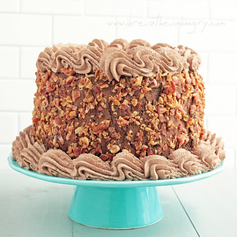 Bacon Chocolate Mocha Ice Cream Cake – Low Carb & Gluten Free