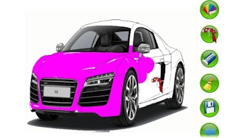 Screenshot of Let's paint cars