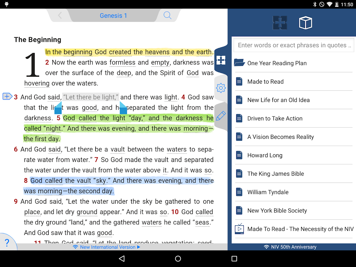 NIV 50th Anniversary Bible Screenshot 9