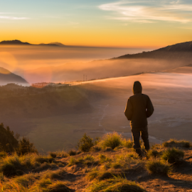Once more time by Krissanapong Wongsawarng - Landscapes Travel ( nature, indonesia, sunrise, landscape, bromo )