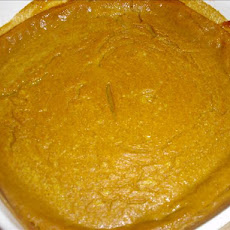 Lite Pumpkin Pie (from Libby's)
