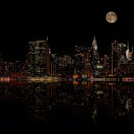 NYC by Dbart ... - City,  Street & Park  Skylines