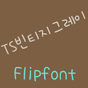 TSvintagegray™ Korean Flipfont icon