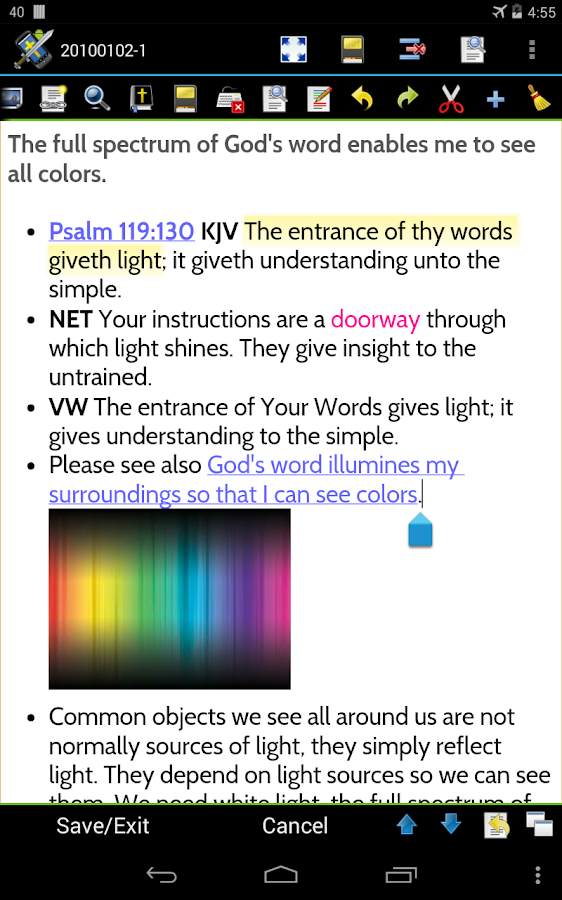 MySword Bible Screenshot 18