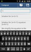 Screenshot of GES Equation Solver