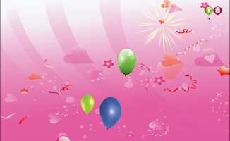 Screenshot of Balloon Popping For Babies