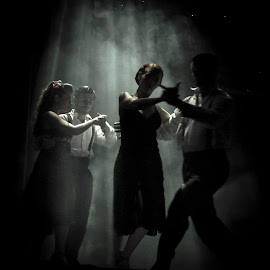 Tango by Akar Necati - People Musicians & Entertainers ( argentina, tango, buenos aires, dance )