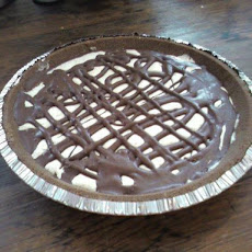 Pretend Chocolate-Peanut Butter Pie!