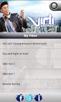 Screenshot of Vidi Aldiano
