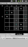 Screenshot of Guitar Scales