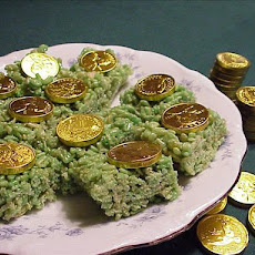 St. Patrick's Day Crispy Treats