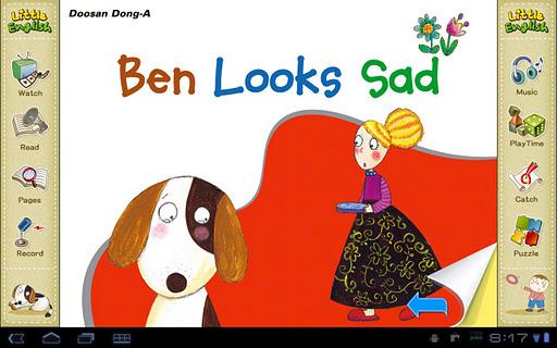 리틀잉글리시-Ben looks Sad 5세용