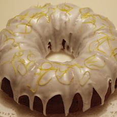 Blueberry Lemon Bundt Cake With Lemon Glaze