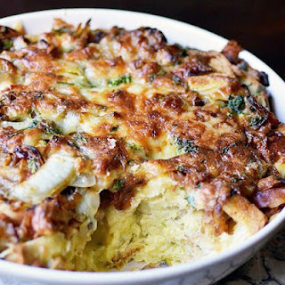 """Ham and Cheese"" Breakfast Casserole"