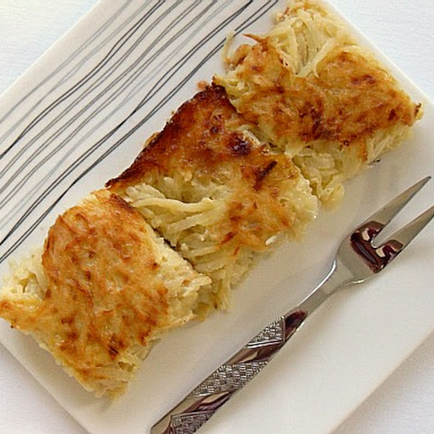 Utterly Perfect Potato Kugel