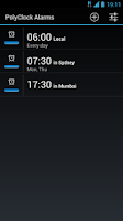 Screenshot of PolyClock™ World Clock