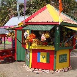 fruttivendolo ai caraibi by Francesco Benettolo - City,  Street & Park  Markets & Shops ( frutta, vendita, caraibi, fruttivendolo )