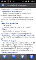 Screenshot of Receta Médica