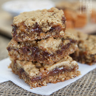 Caramel-Chocolate Oatmeal Bars{Caramelitas!}