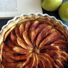French Apple Tart (Tarte de Pommes a la Normande)