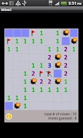 Screenshot of Vintage Minesweeper