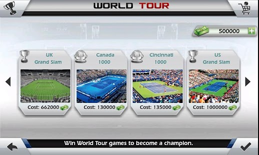 Game 3D Tennis APK for Kindle