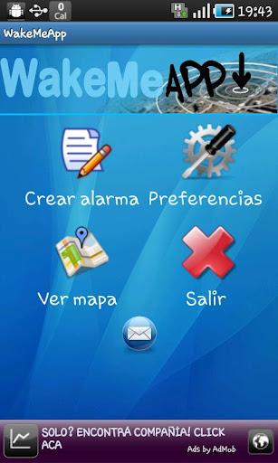 WakeMeApp