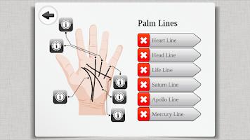Screenshot of Palm Reading Premium HD Lite