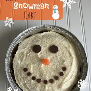 Snowman Cake Recipes