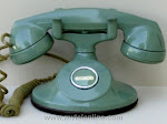 Cradle Phones - Western Electric 202 Green