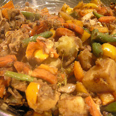 Curried Vegetables With Coconut