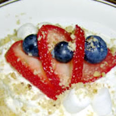 Red, White and Blue Ambrosia