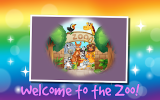 Screenshot of Kids Zoo Animals Scratch