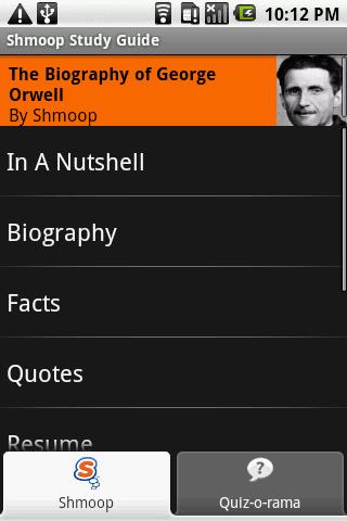 George Orwell: Shmoop Guide